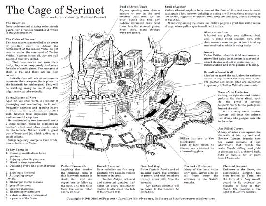 Trilemma Adventures: The Cage of Serimet